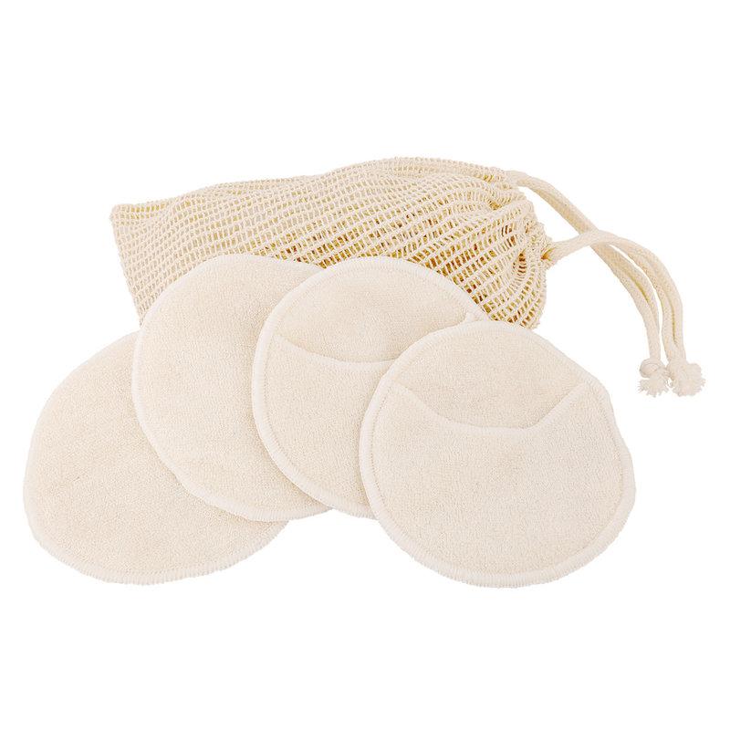 Wasbare make-up remover pads - 4 stuks