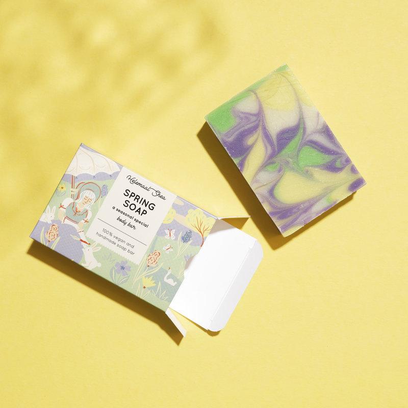 HelemaalShea Seasonal special - Spring soap