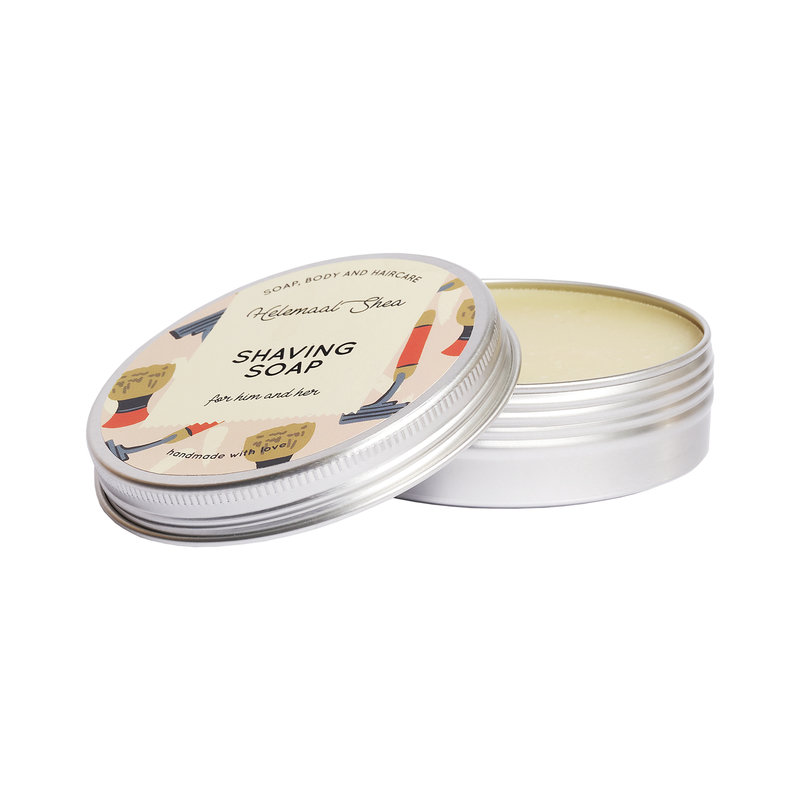 Shaving soap - in a tin can