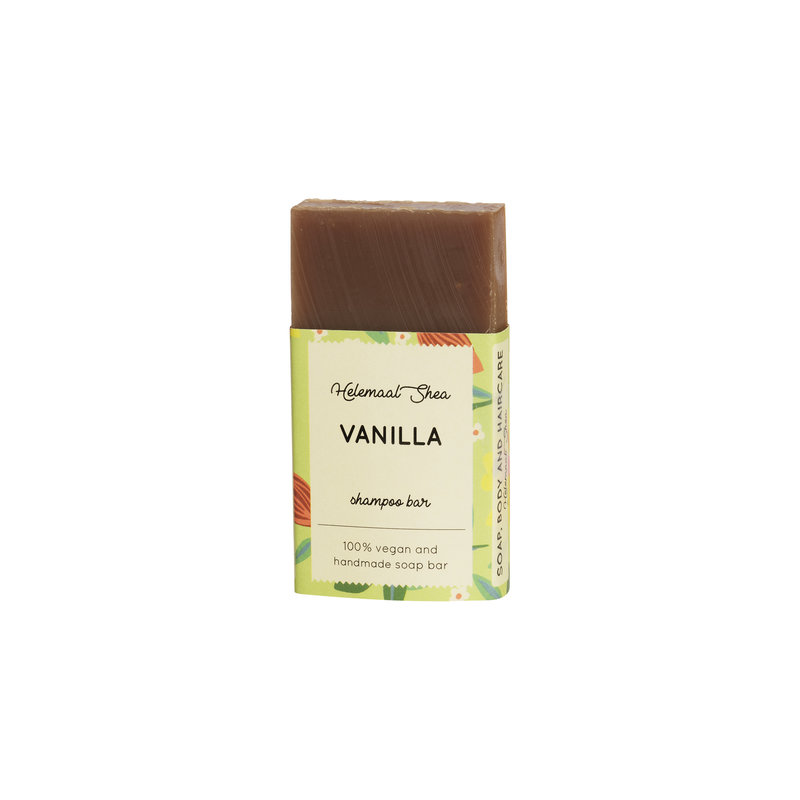 Vanilla shampoo bar - all hairtypes - Mini
