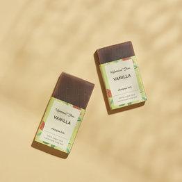 Vanille festes Shampoo - Mini