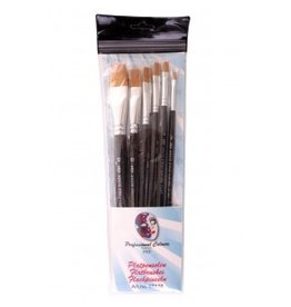 PXP PXP 6 brushes FLAT profigrime synthetic hair