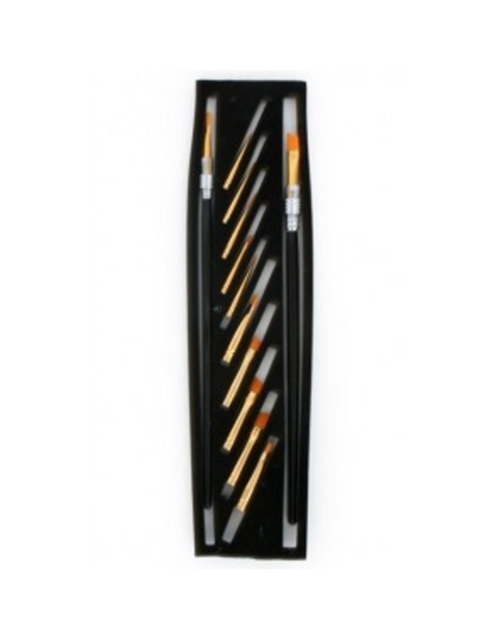 PXP PXP Professional Colours set of pencils multi brush  12 brushes
