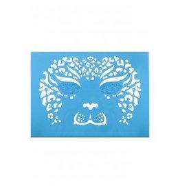 PXP PXP aqua face & body paint template leeuwin