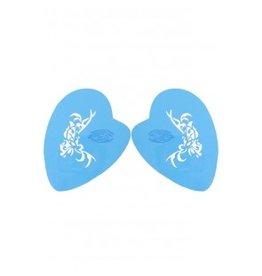 PXP PXP aqua face & body paint template tribal vlinderProfessional Colours Make-UpSchmink sjabloon
