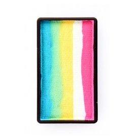 PXP PXP 28 gram splitcake block ATurquoise | green | yellow | white | pink