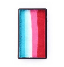 PXP PXP 28 gram splitcake block dRed | pink | white | turquoise