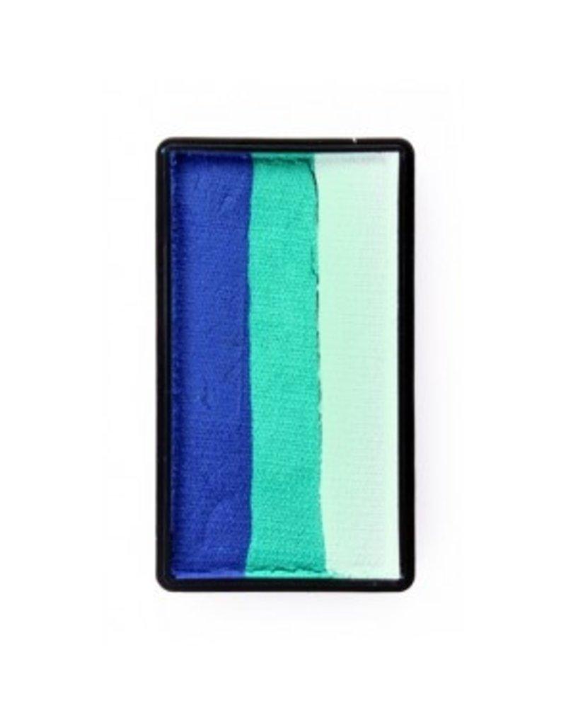 PXP PXP 28 gram splitcake block bBlue | pastel green | white