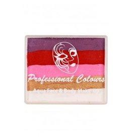PXP PXP 50 gram splitcake Violet | Red | Pink | Pearl  Gold | White