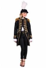 Thetru Jas dame ''Nelson brocaat'', Zwart-Zwart