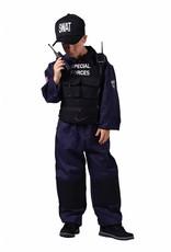 Thetru Swat kind, , Overal-Vest-Pet-Walkietalkie