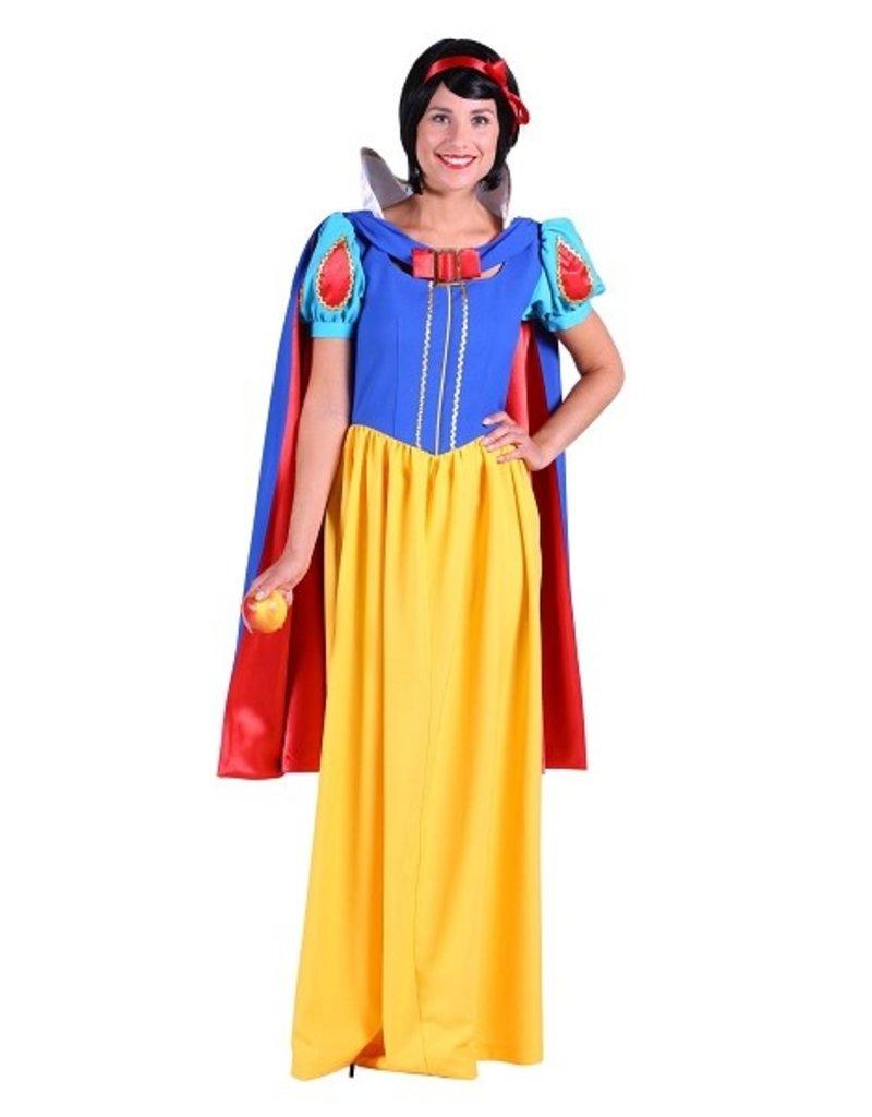 Thetru Kostuum Sneeuwwitje met cape, , Jurk-Cape