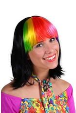 Thetru Pruik luxe Samantha, Mix van kleuren, Hoge kwaliteit pruik-Verstelbaar