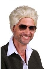 Thetru Pruike luxe Jeremy, Blond, Hoge kwaliteit pruik-Verstelbaar