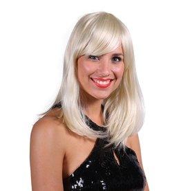 Thetru Pruik luxe Selina, Blond