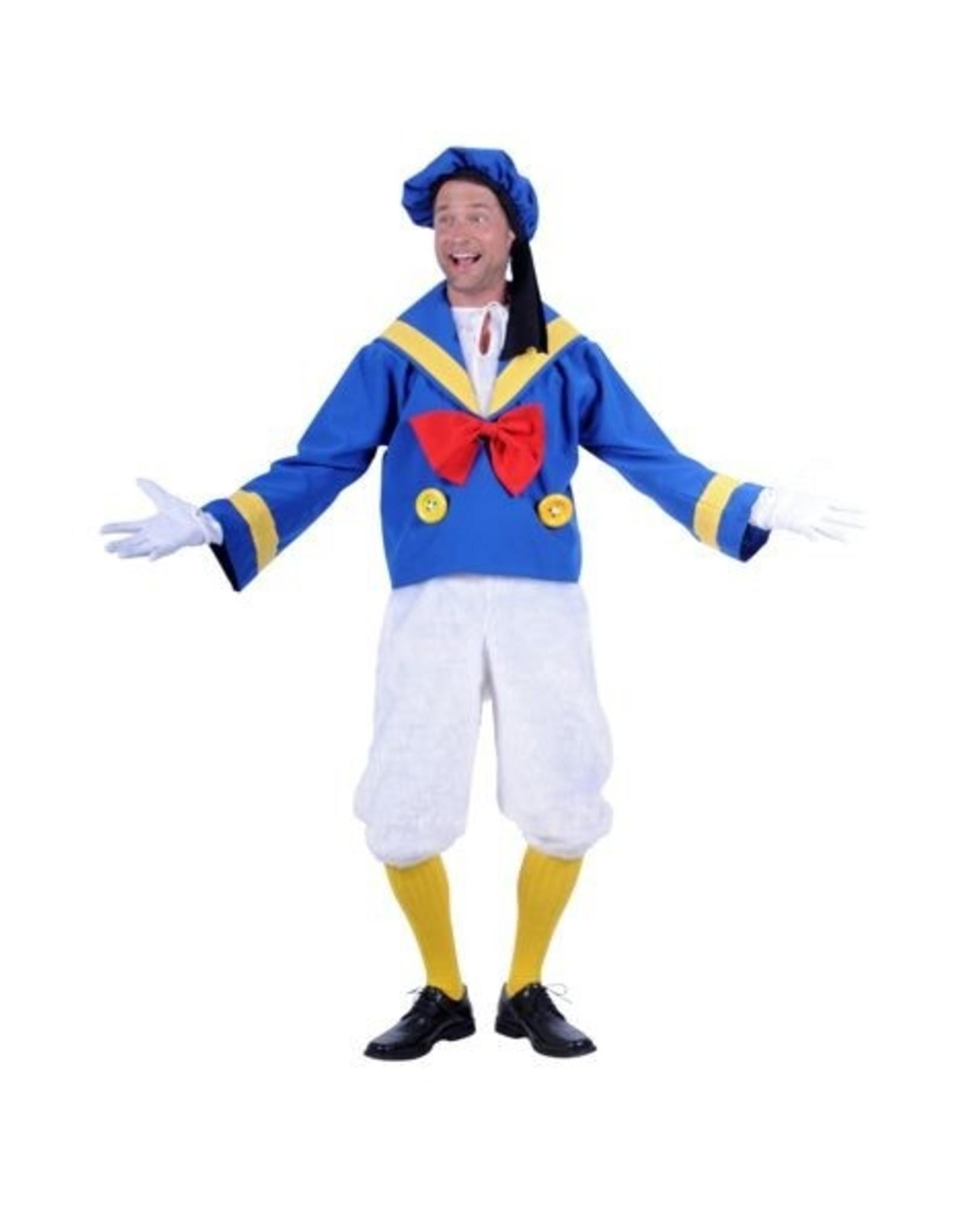 Thetru Kostuum eend, Blauw, Jas-Broek-Muts