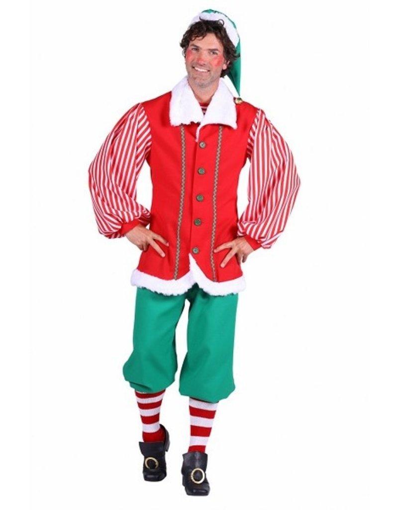 Thetru Santa's helper heer, Groen-Rood, Broek-jas-muts