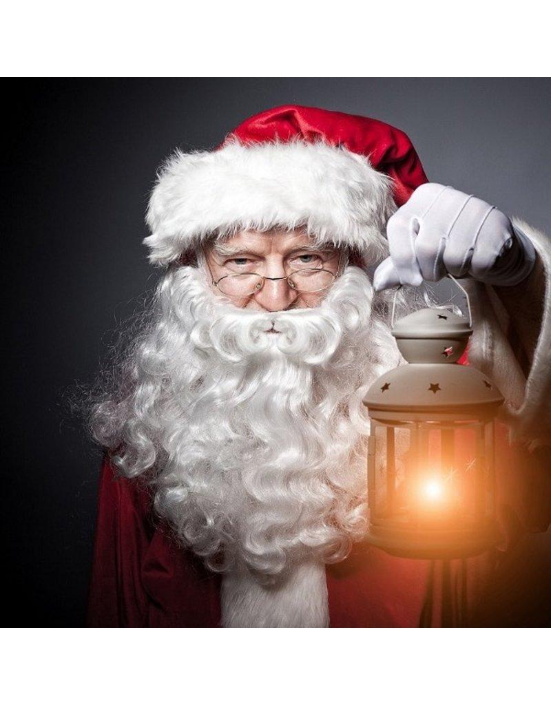 Thetru Luxe kerstman baardstel, Wit