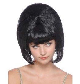 Funny Fashion Pruik Isabella zwart