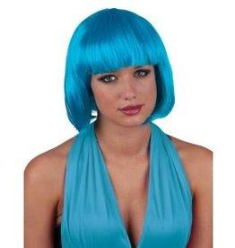 Funny Fashion Pruik Sexy Lola turquoise