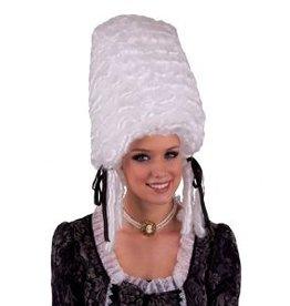 Funny Fashion Pruik Jolanda wit