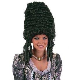 Funny Fashion Pruik Jolanda zwart
