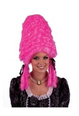Funny Fashion Pruik Jolanda roze