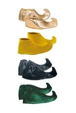 Funny Fashion Elfen Schoenen volwassenen groen/zwart