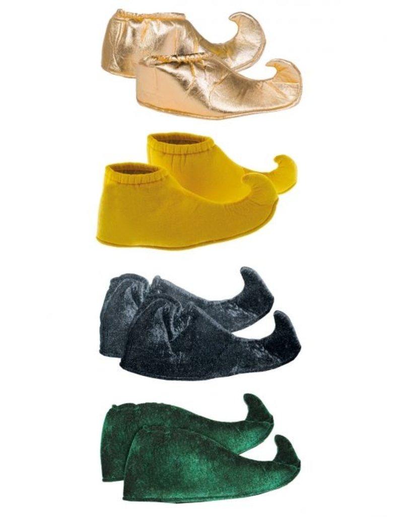 Funny Fashion Elfen Schoenen kinderen groen/zwart