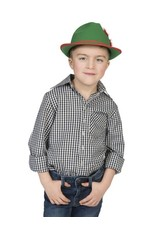 Funny Fashion Cowboyhemd Kind zwart/wit