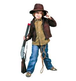 Funny Fashion Avonturier Indiana Jones kostuum kind