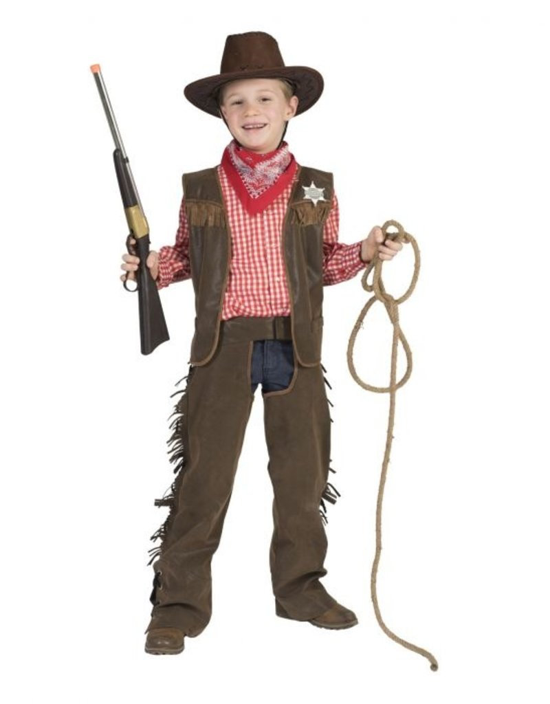 Funny Fashion Cowboy Luke kostuum kind jongen