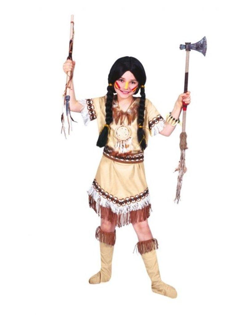 Funny Fashion Indianen jurk Cheyenne kind