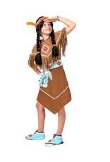 Funny Fashion Indianen jurkje Malia kind
