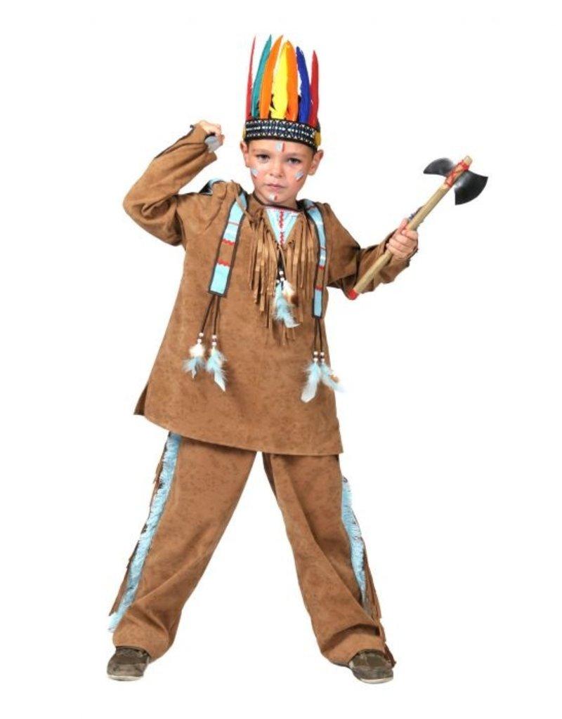 Funny Fashion Indianen pak Anoki kind