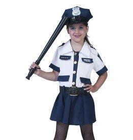 Funny Fashion Politie agente kostuum Amy kind