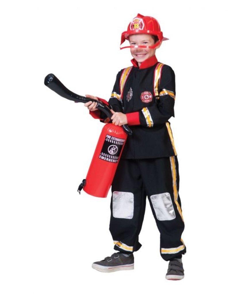 Funny Fashion Brandweerman Max kostuum kind