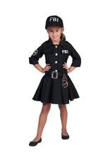 Funny Fashion FBI agente kostuum Caroline kind meisje