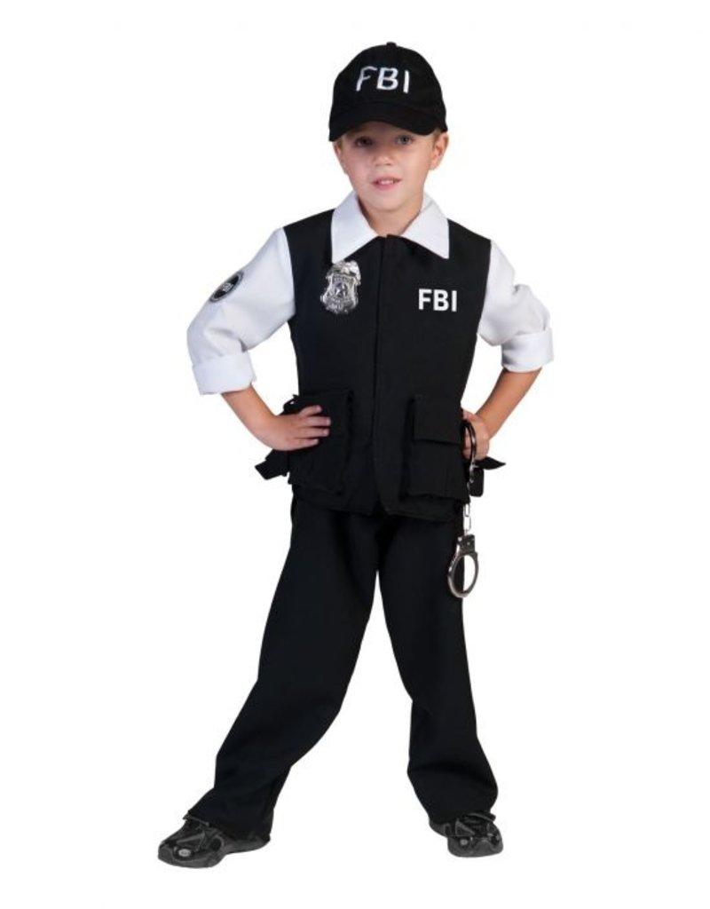 Funny Fashion FBI Agent kostuum Collin kind jongen