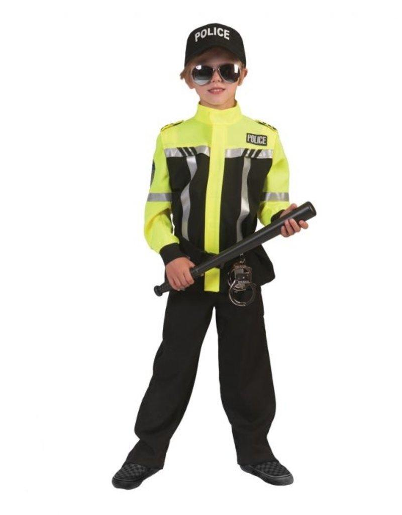 Funny Fashion Politie agent kostuum Aiden jongen kind