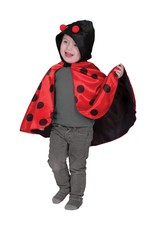Funny Fashion Lieveheersbeestje cape kostuum baby kind
