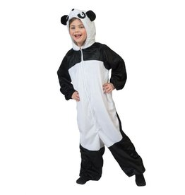 Funny Fashion Panda kind kostuum verkleedkleding