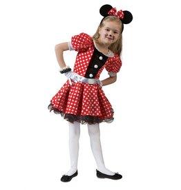 Funny Fashion Muizen kostuum Lulu kind