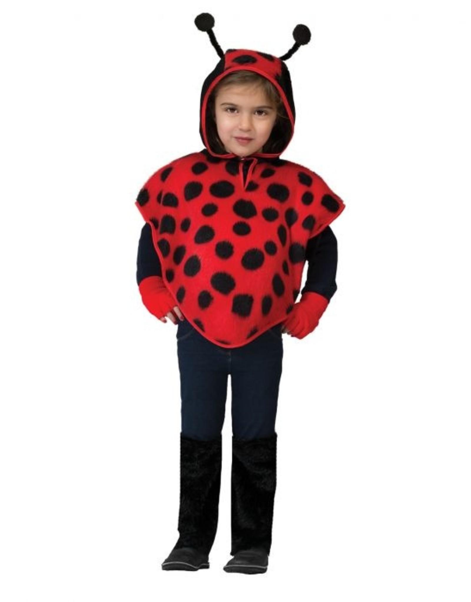 Funny Fashion Lieveheersbeestje cape kostuum kind baby