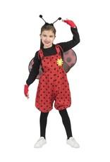 Funny Fashion Lieveheersbeestje Lumi kind verkleedkleding