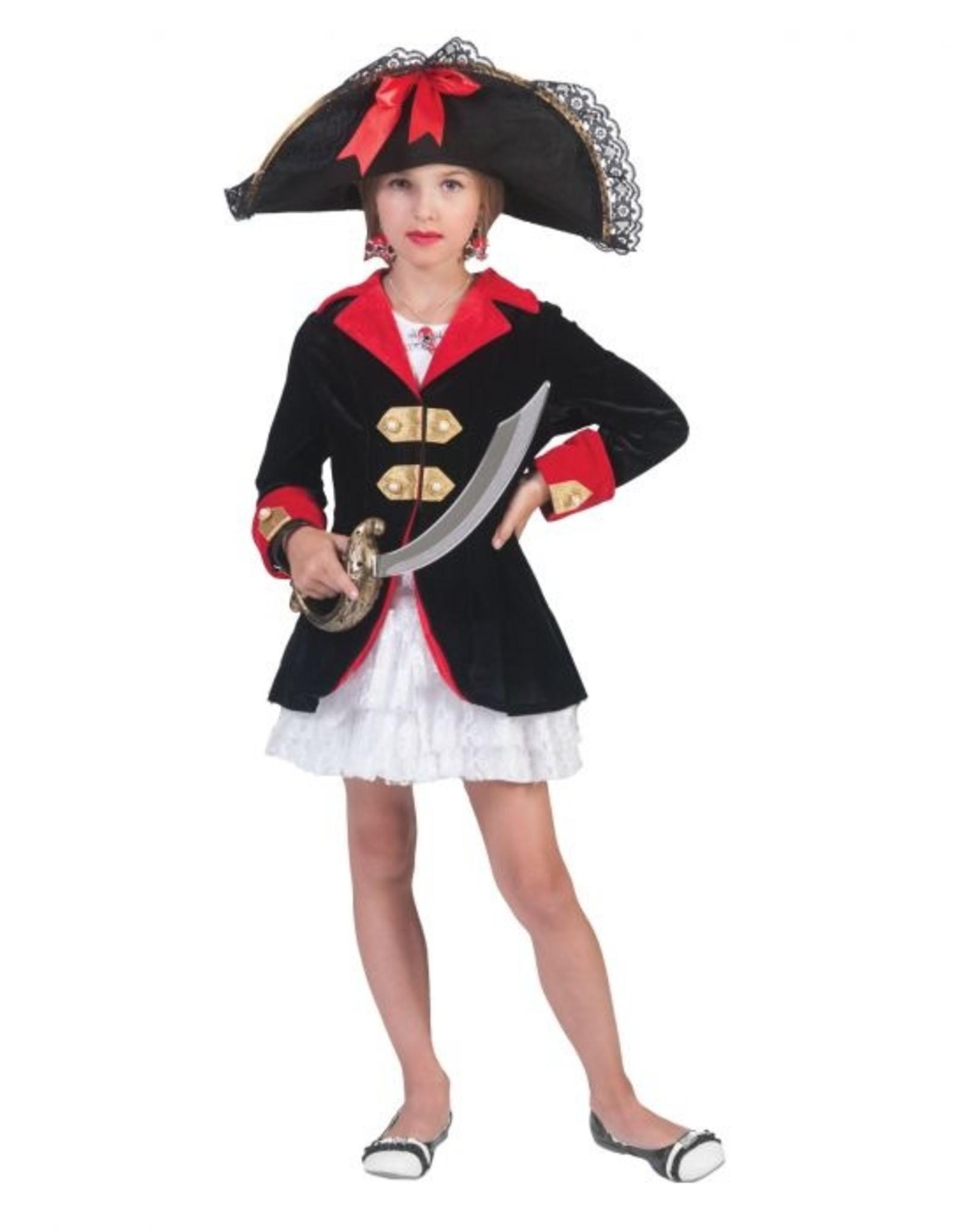 Funny Fashion Piraten jurk Florentine kind meisje