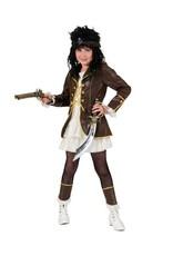 Funny Fashion Piraten kostuum Florence meisje