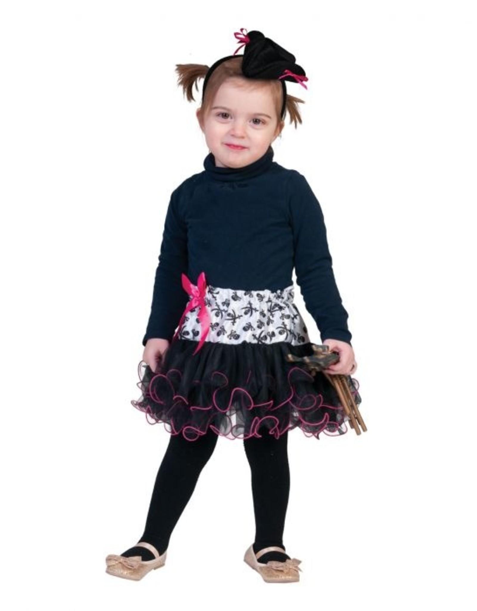 Funny Fashion Piraten rok kostuum kind baby