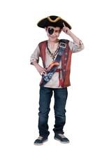 Funny Fashion 3D-shirt piraat kind jongen