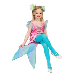 Funny Fashion Zeemeermin kostuum Romy kind